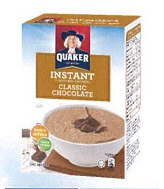 Quaker Instant Oatmeal Chocolate 8sx30g