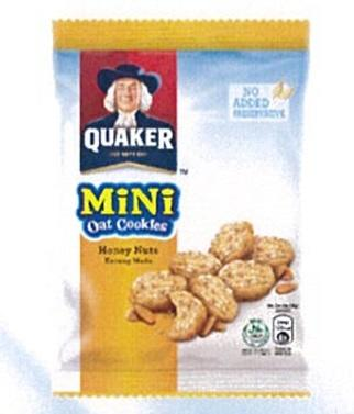 Quaker Mini Oat Cookies Honeynut 28g