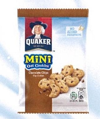 Quaker Mini Oat Cookies Choco Chips 28g