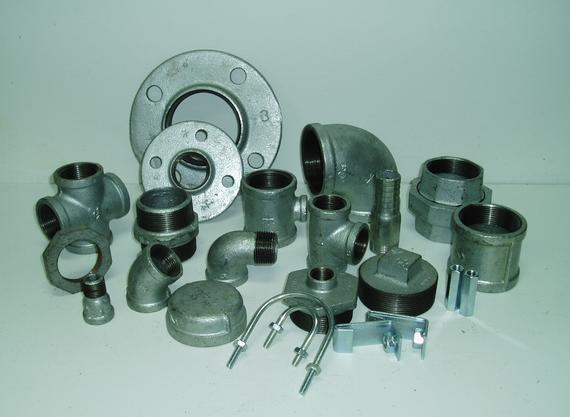 Malleable Iron Galvanized Pipe Fittings