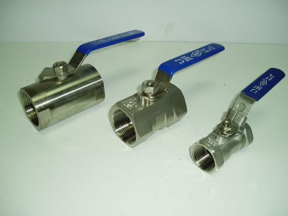 Stainless Steel Round Body  Hexagon Body  Locking Device Ball Valves