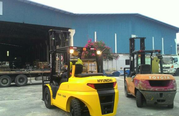 Hyundai Forklift Engineering
