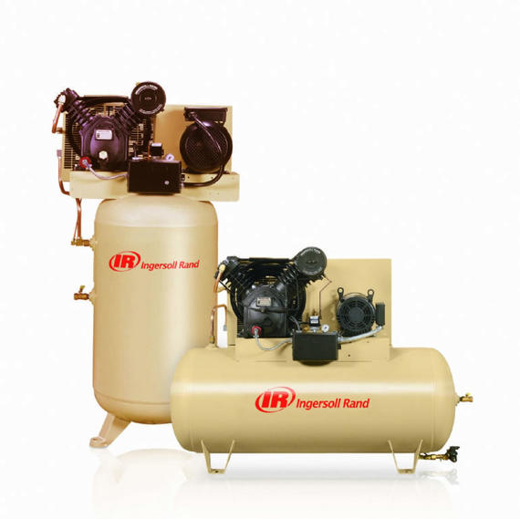 Vertical and Horizontal Piston Compressor