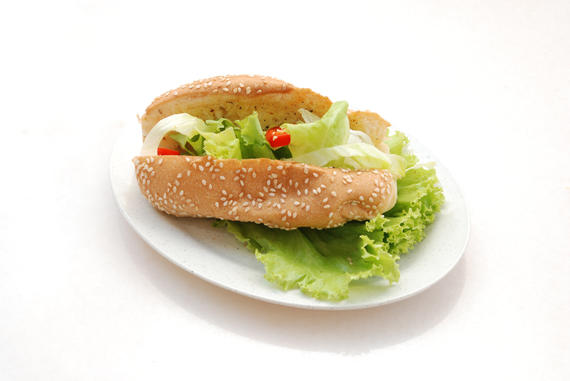Bread With Salad