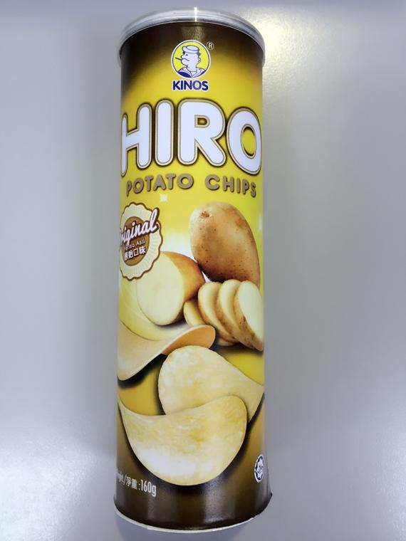 HIRO Potato Chips 160g Original