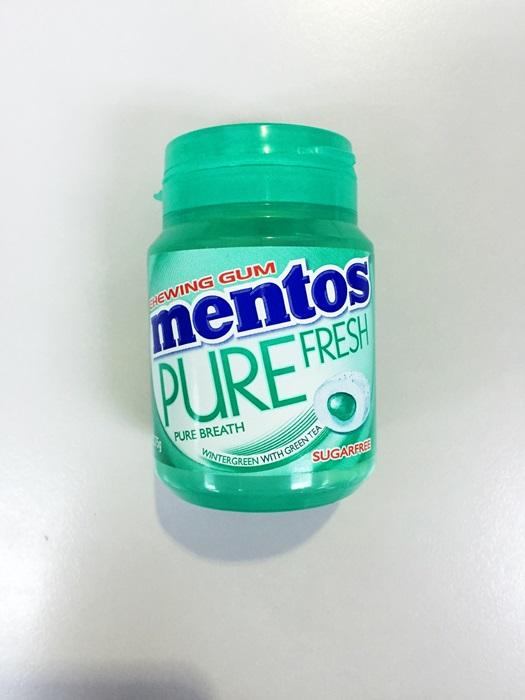 Mentos Pure fresh 57g Wintergreen