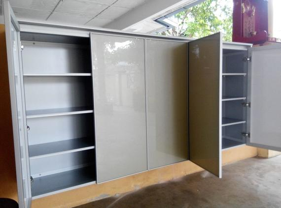 Aluminium Shoes Cabinet
