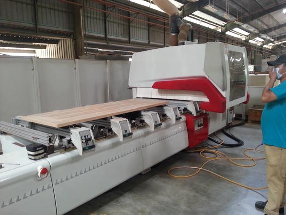 Latest CNC Machines for door production