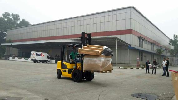 Hyundai Forklift in Transportation