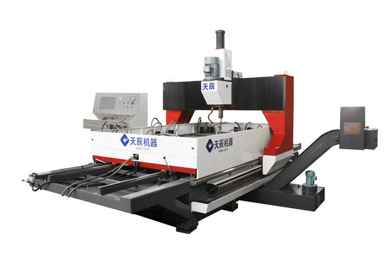 CNC Gantry Movable Plate Drilling Machine