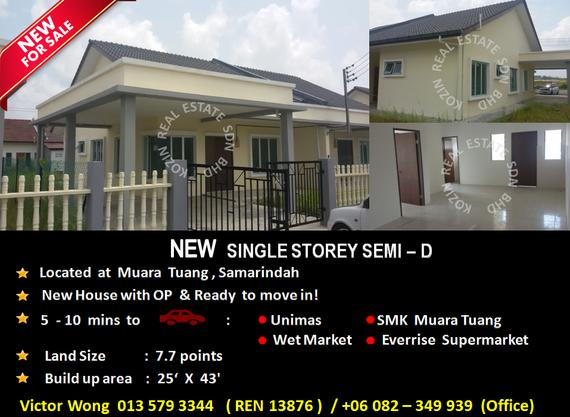 FOR SALE Single Storey Semi-D
