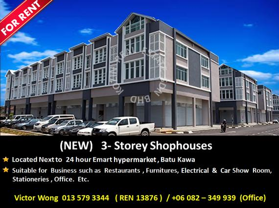 FOR RENT Shophouses