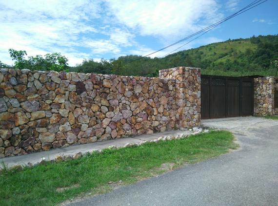 Color Natural Stone Wall