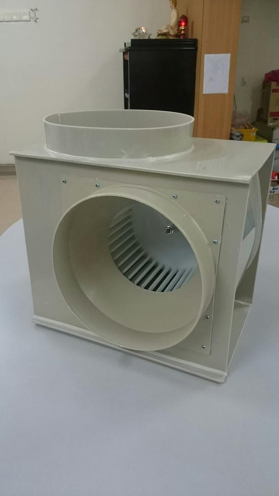 PP fume hood fan