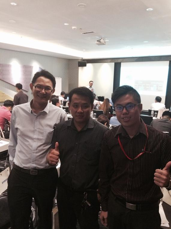 B&G SalesTeam Attend Training at Pullman KL Bangsar