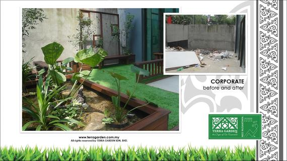 Malaysian Garden Corporate by Terra Garden