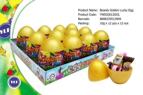 8888235512909 beardy goldren lucky egg