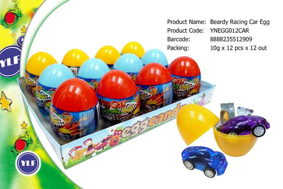 8888235512909 beardy racing car egg
