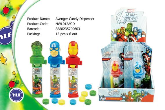 AVENGER CANDY DISPENSER 12SX7