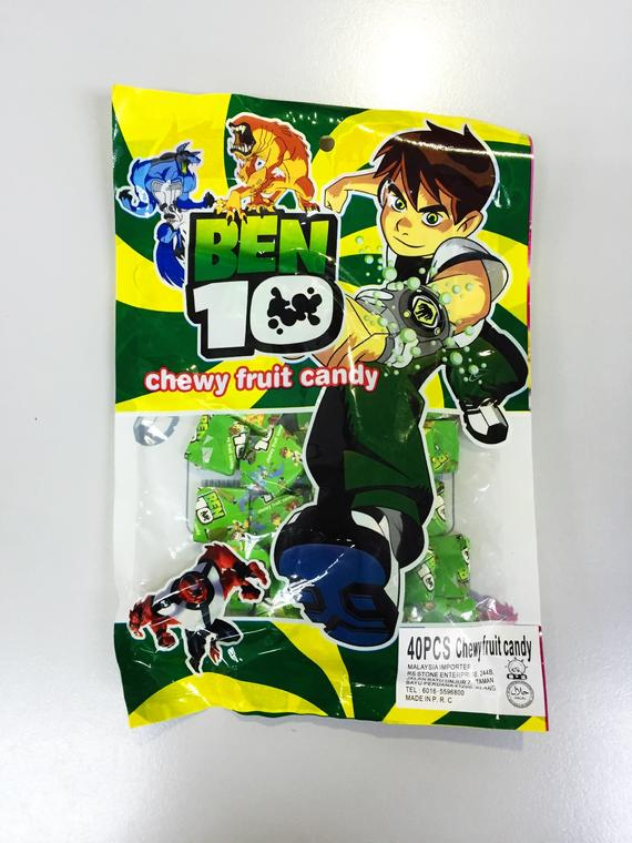 BEN 10 CHEWY FRUIT CANDY