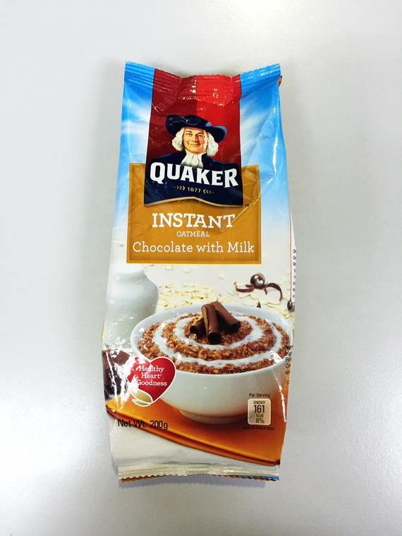 QUAKER FIO CHOCOLATE WITH MILK 18X200G