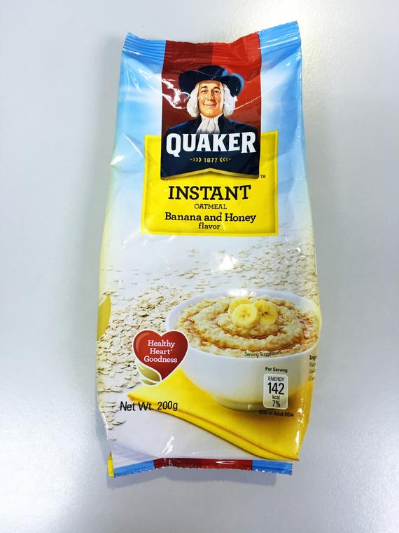 QUAKER FIO BANANA   HONEY 18X200G
