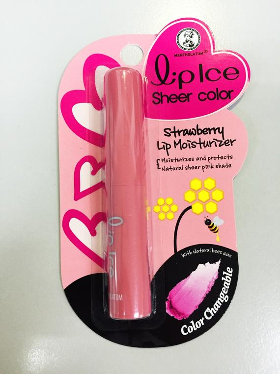 LIPICE SHEER COLOR S'BERRY 2