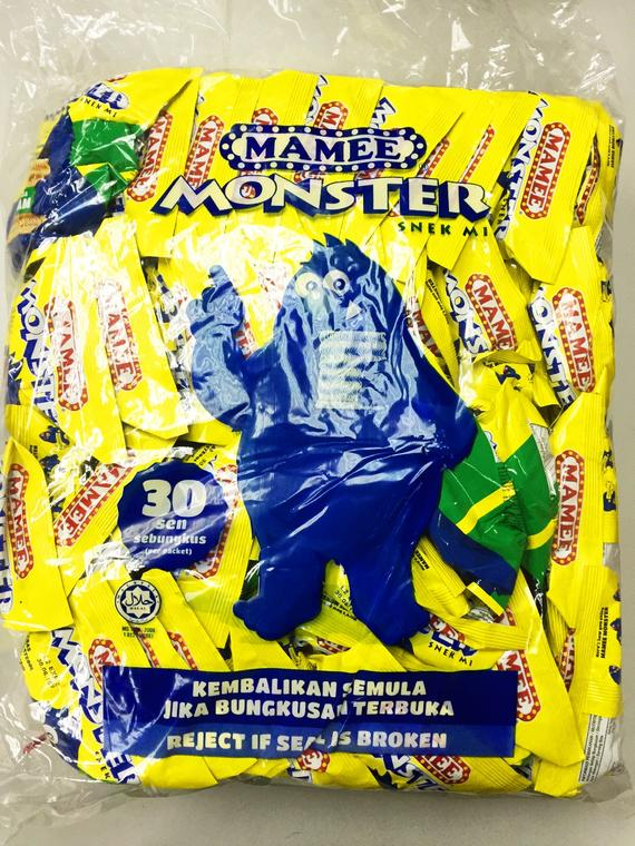 MAMEE MONSTER CHICKEN 10X40SX25G
