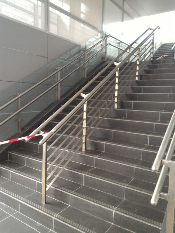 LRT Project Stainless steel Railing