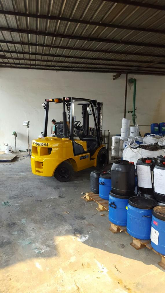 Hyundai Forklift in Electronic Industry