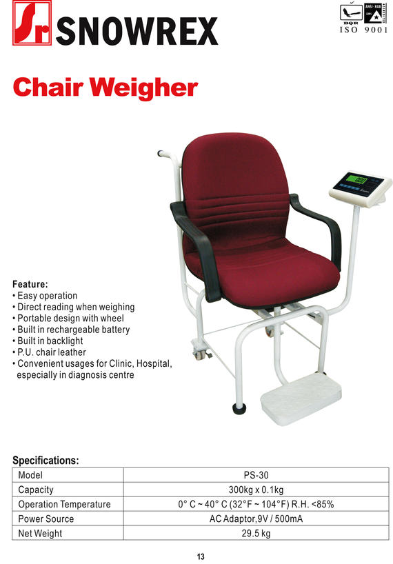 Chair Weigher