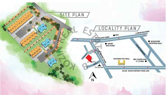 Locality & Site Plan