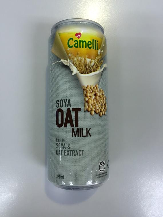 CAMELLI SOYA OAT MILK 24X320ML