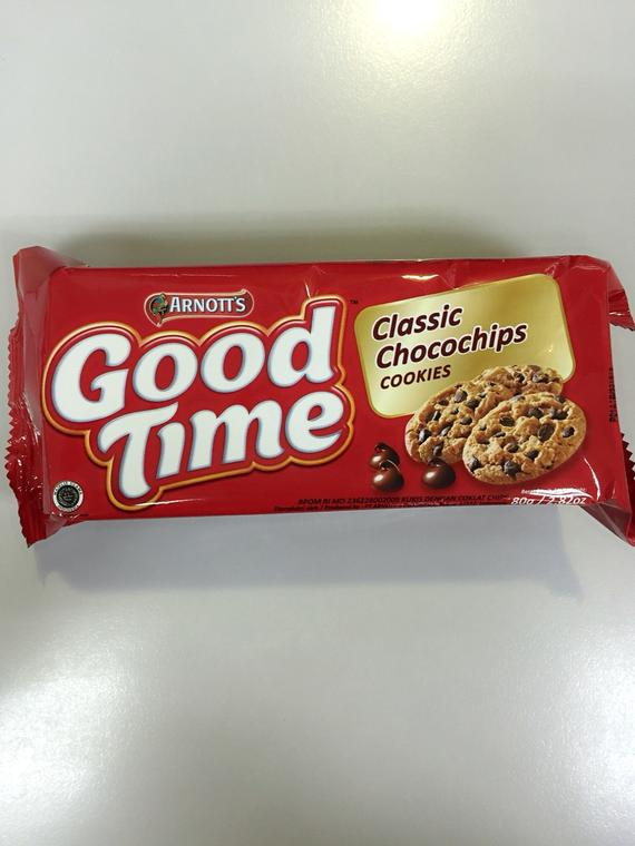 GOOD TIME CLASSIC CHOCOCHIPS COOKIES 24X80G