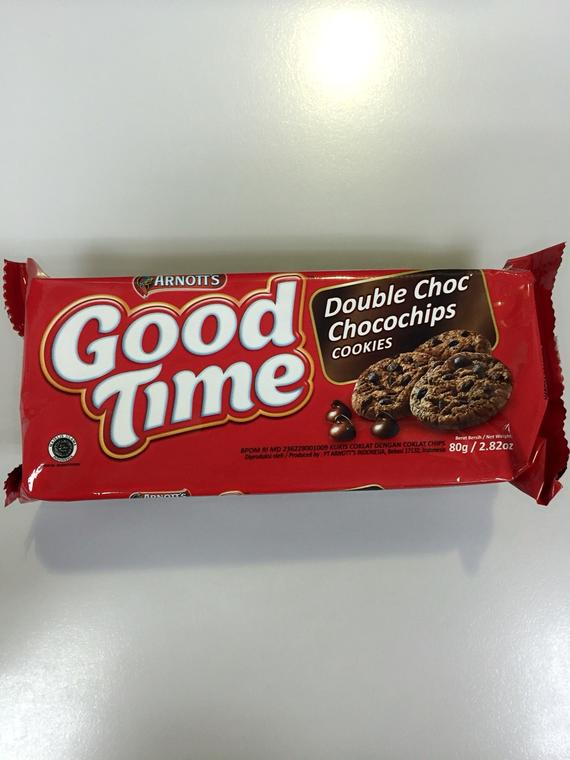 GOOD TIME DOUBLE CHOC COOKIES 24X80G