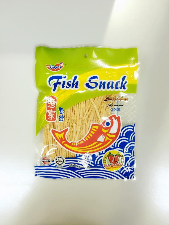 IKA'S FISH SNACK HOT SPICY 6X10'SX60G