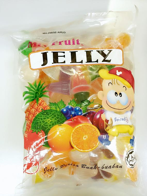 MIX FRUIT JELLY(LEAN SENG)6X100'SX18G