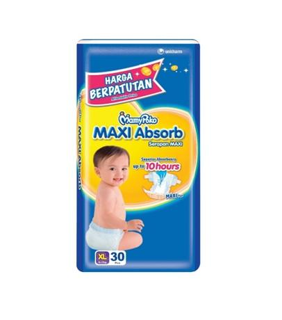 MP MAXI ABSORB JUMBO XL30(1X3)(YELLOW)