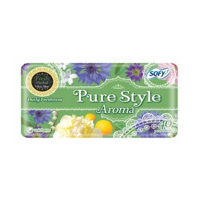 SOFY PL PURE STYLE AROMA FRESH 40S