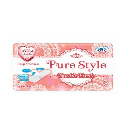 SOFY PL PURE STYLE DOUBLE FRESH 52S(S)