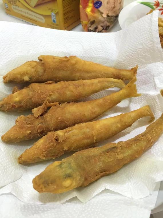Fried Crispy Fish