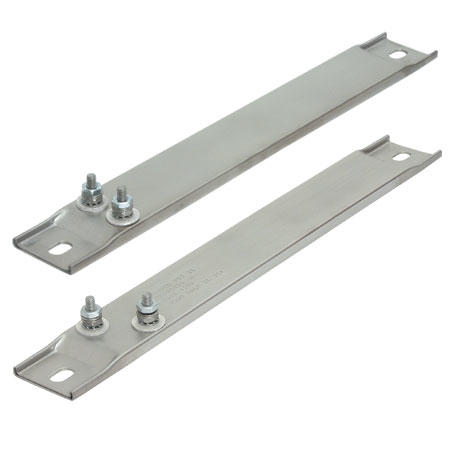 Channel Strip Heaters Ceramic Insulated