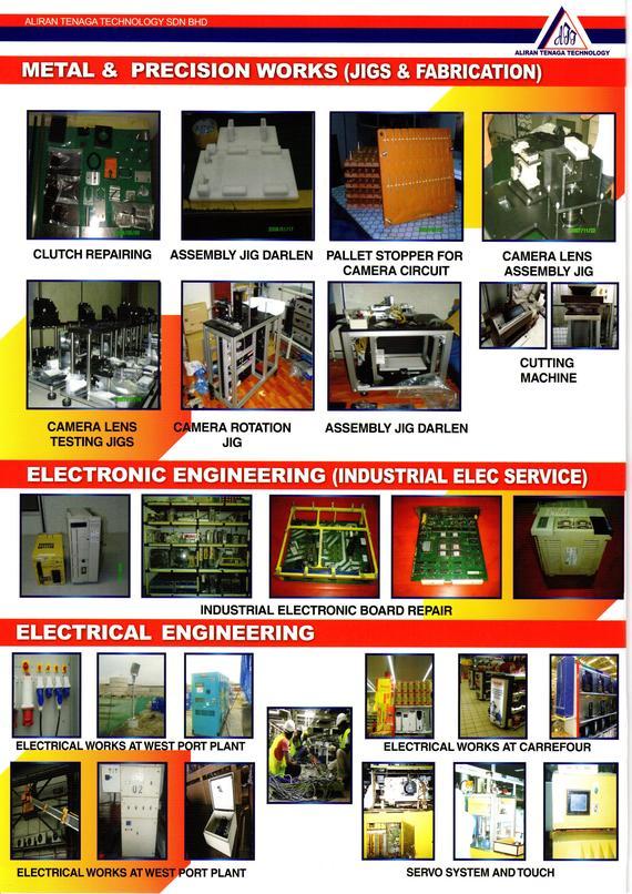 Aliran Tenaga Technology Sdn Bhd Machine Repair