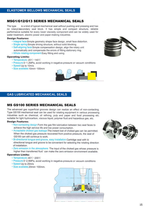 Mechanical Seal-PA10
