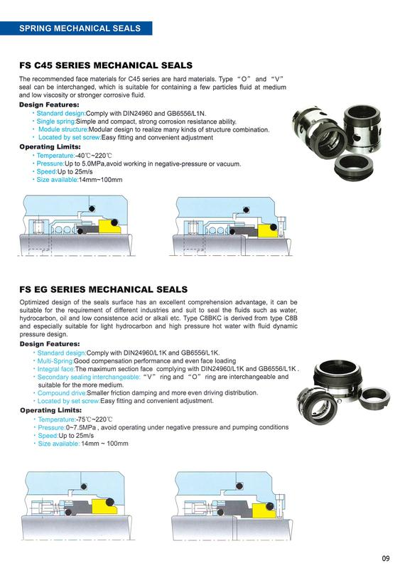 Mechanical Seal-PA05