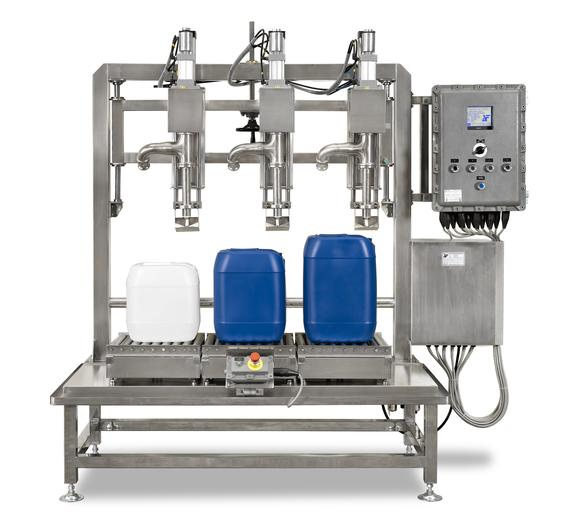 STW-3-30K-CH-EX1-S6 (3 HEAD EXPLOSION PROOF DRUM FILLER)