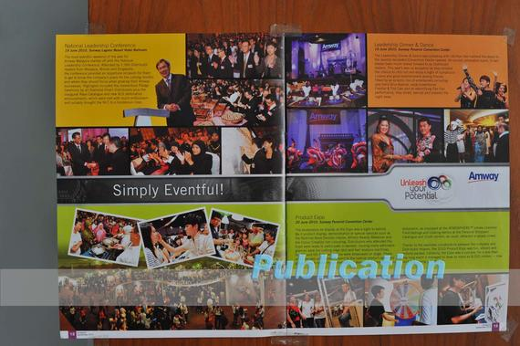 4 Publications (1005) Amway Monthly Magazine