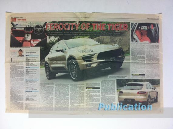 4 Publications (1012) Porsche Macan