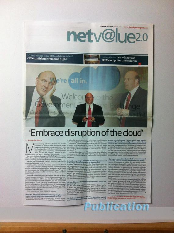 4 Publications (1024) The Edge Microsoft CEO Steve Ballmer