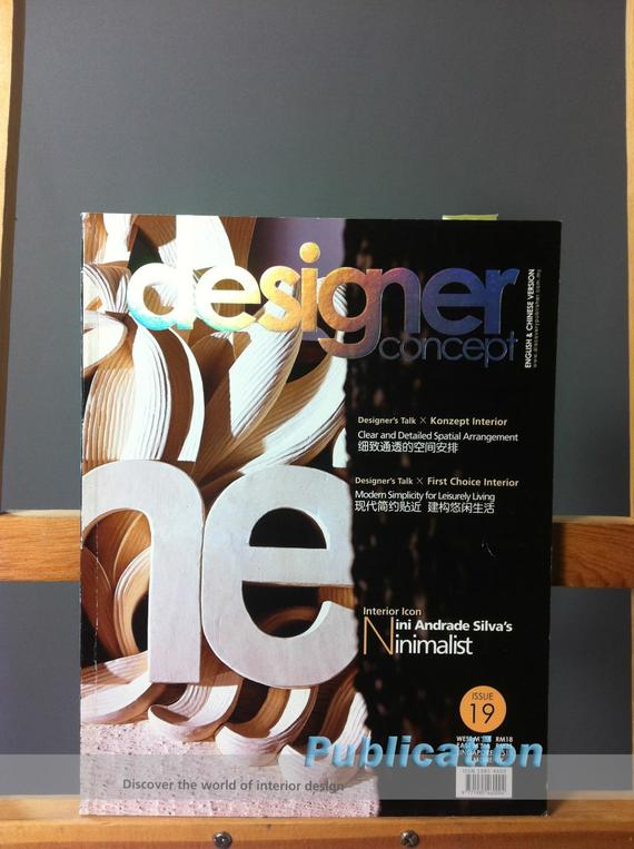 4 Publications (1037) Interior Design Designer Concept Magazine